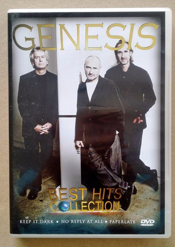 dvd - genesis - best hits collection