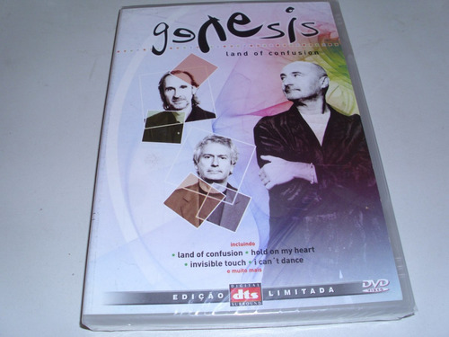 dvd genesis land of confusion