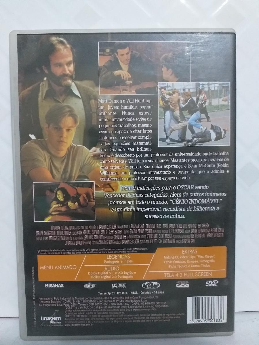GENIO INDOMAVEL BAIXAR FILME DUBLADO