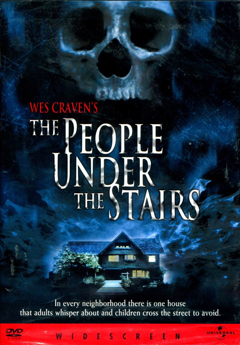 Dvd Gente Detras De Las Paredes The People Under The Stairs