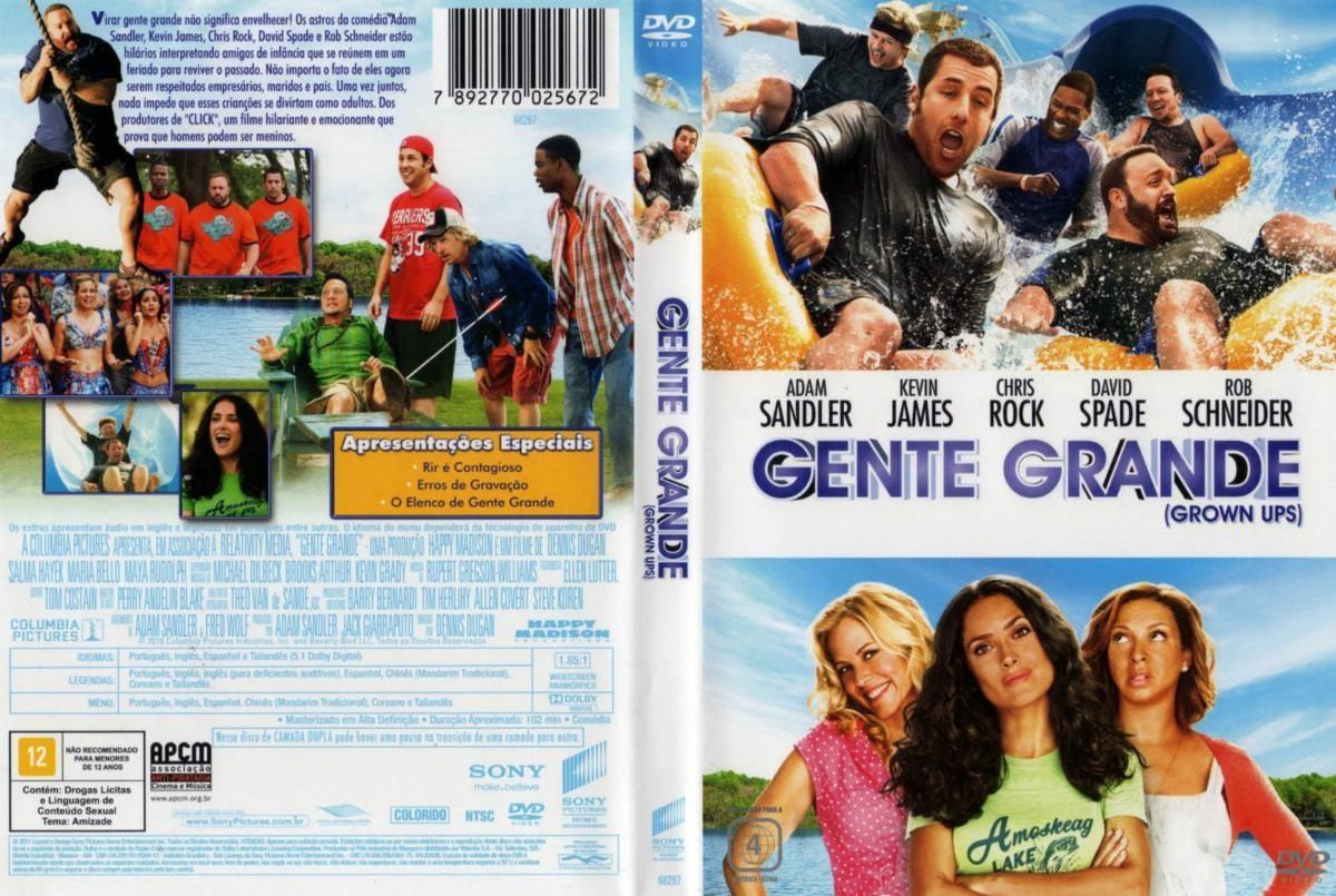 Gente Grande - Adam Sandler, Kevin James, Chris Rock, David Spade, Rob Scheineider