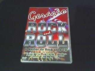 dvd geração rock and roll - várias bandas