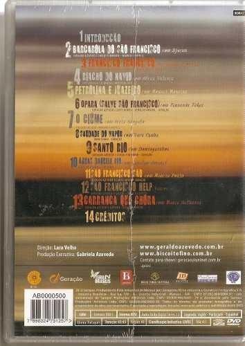 dvd-geraldo azevedo-salve são francisco-lacrado de fabrica