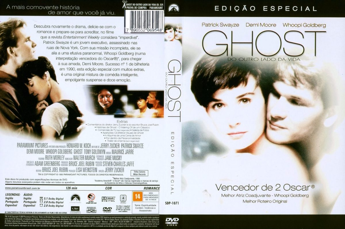 Dvd Ghost- Do Outro La...