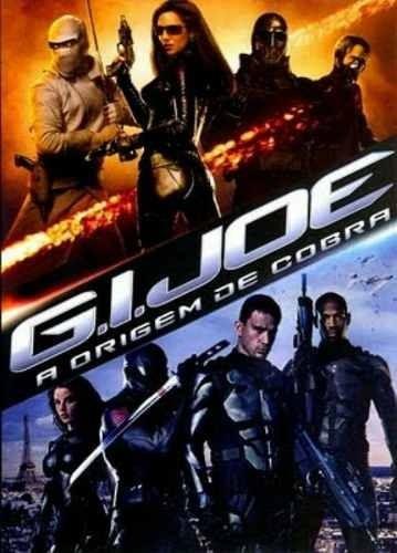 dvd - g.i. joe - a origem de cobra
