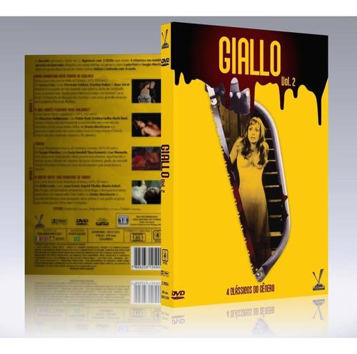 dvd giallo volume 2 - versatil - bonellihq b19