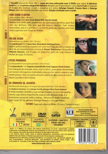 dvd giallo volume 7 com cards - versatil - bonellihq l19