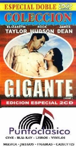dvd - gigante - elizabeth taylor - james dean