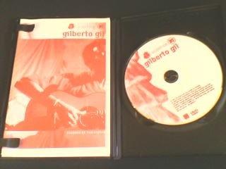 dvd gilberto gil acústico  (com caderno de tablaturas)