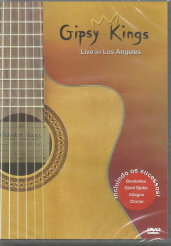 dvd - gipsy kings - live in los angeles - lacrado