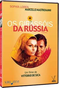 dvd girassóis da rússia v.de sica,  s. loren, mastroianni +