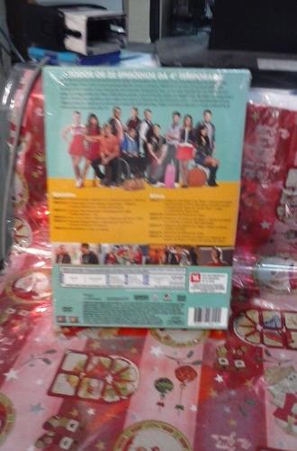 dvd glee 4 temporada 6 discos