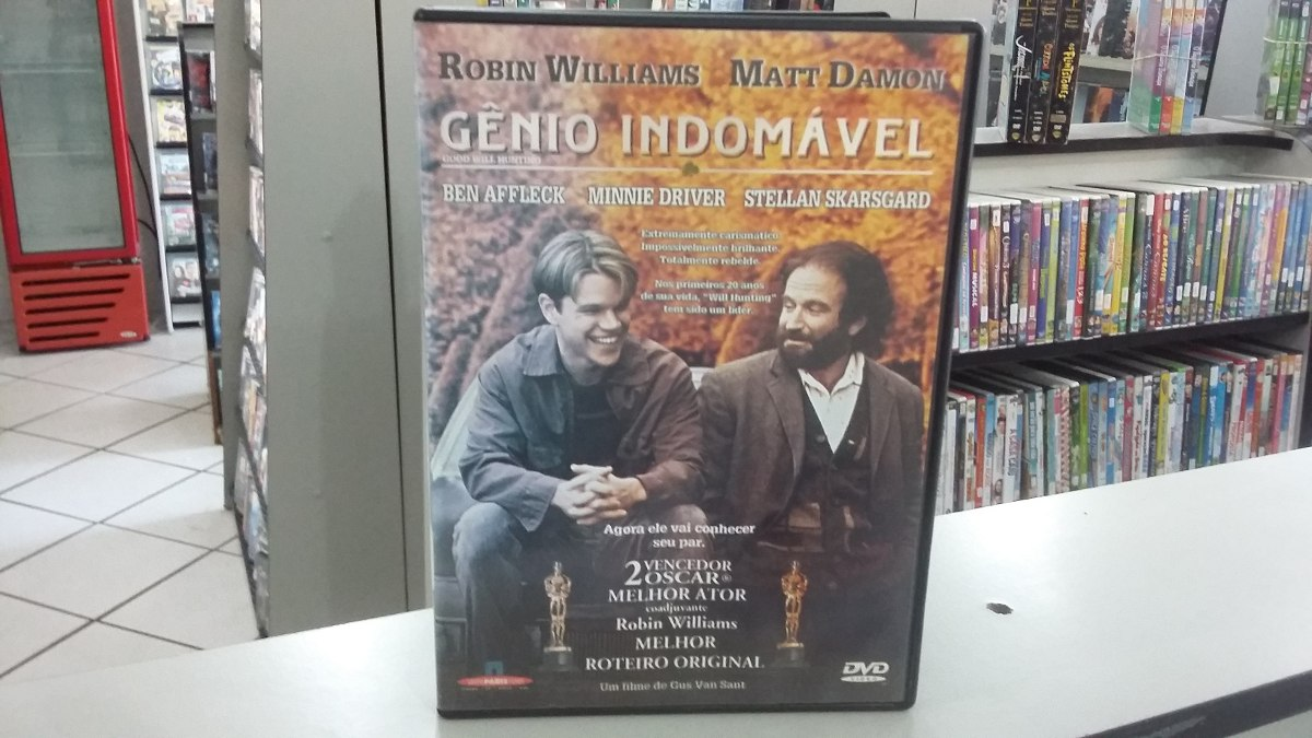 Gênio Indomavel within dvd gênio indomável - edição paris filmes - r$ 25,00 em mercado livre