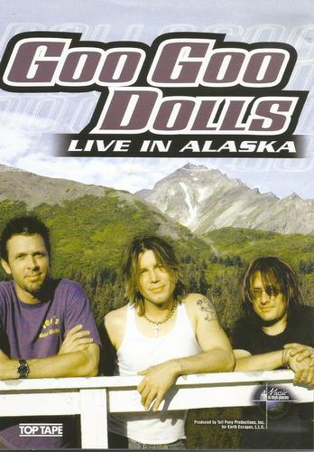 dvd - goo goo dolls - live in alaska - lacrado