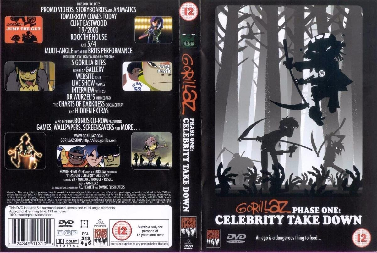 Phase One: Celebrity Take Down [DVD] - Gorillaz | Data ...