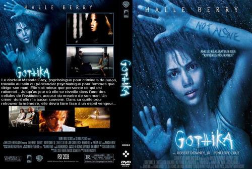 dvd gothika fantasmas espiritus ocultos robert downey jr.