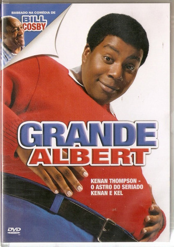 dvd grande albert - kenan thompson - novo***