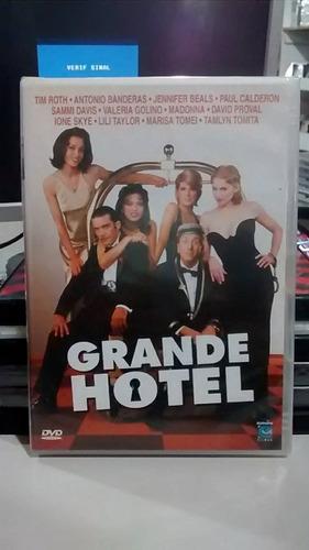 dvd grande hotel - tarantino, madonna (novo/lacrado)