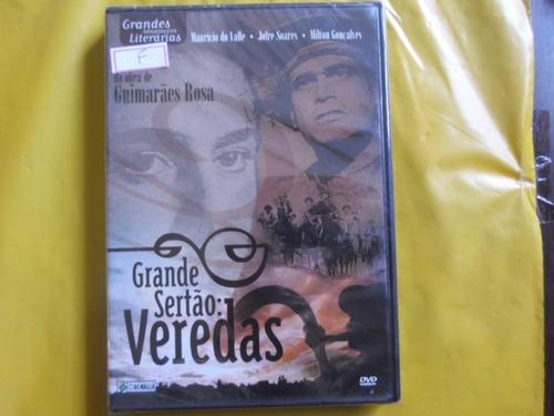 dvd grande sertão veredas / novo