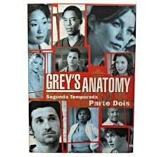 dvd greys anatomy 2ª temporada parte dois - lacrado