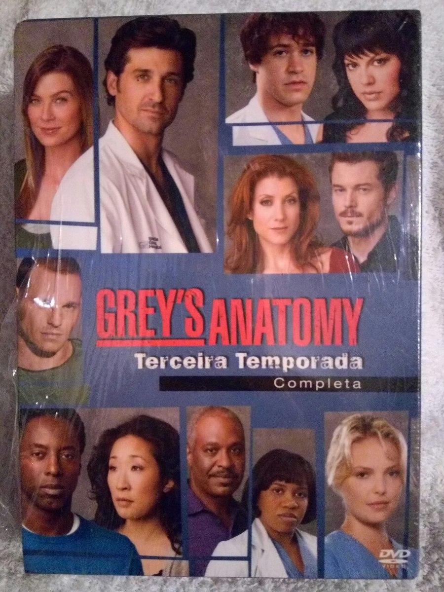 Dvd Greys Anatomy 3 Temporada Frete Gratis - R$ 83,00 em Mercado Livre