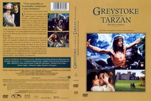 Greystoke: The Legend of Tarzan, Lord of the Apes (1984 ...