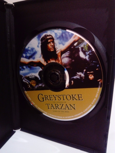 dvd greystoke: the legend of tarzan 1984 importada