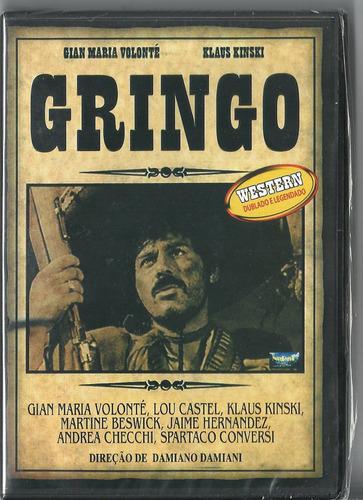 dvd gringo klaus kinski, gian maria volonté, lacrado