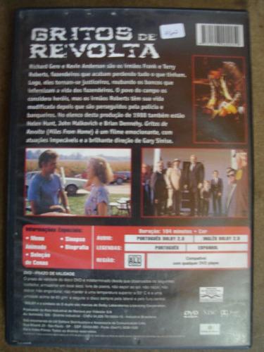 dvd gritos de revolta com richard gere