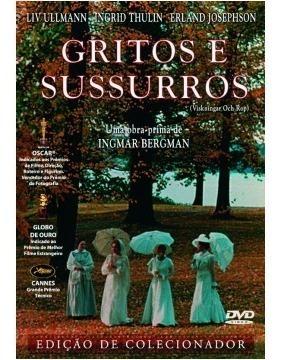 dvd gritos e sussurros de ingmar bergman  liv ullmann 1972 +