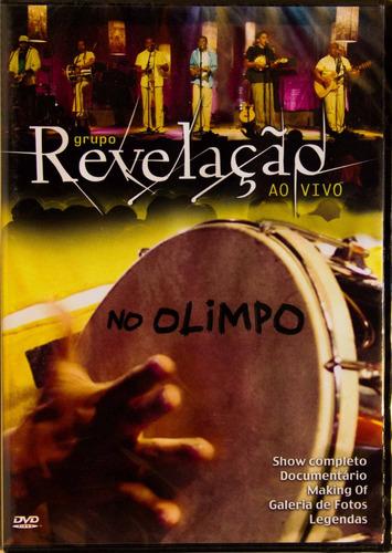 dvd grupo revelação ao vivo no olimpo novo lacrado