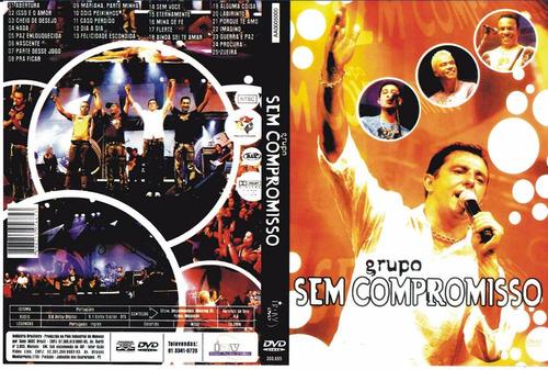 dvd grupo sem compromisso ao vivo original