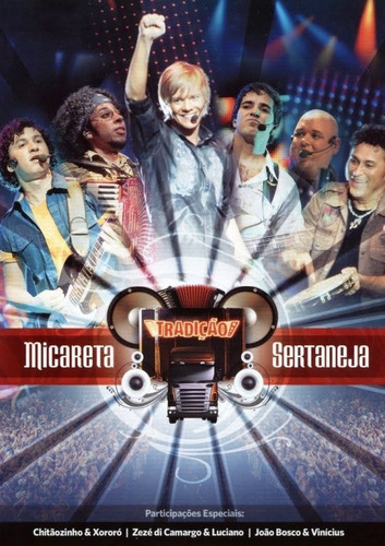 dvd - grupo tradição micareta sertaneja vol. 1
