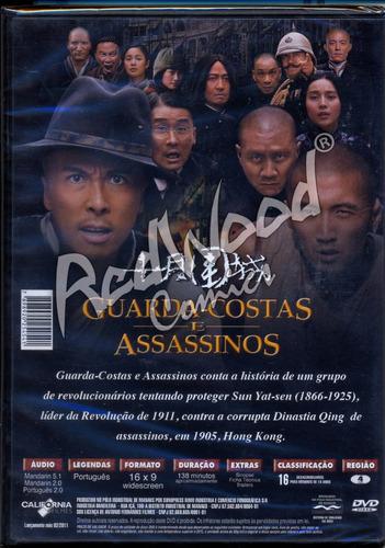 dvd - guarda-costas e assassino - california - redwood