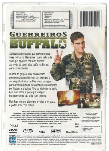 dvd guerreiros buffalo - joaquin phoenix ed harris - lacrado
