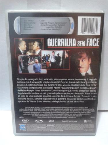 dvd guerrilha sem face - john malkovich - javier barden