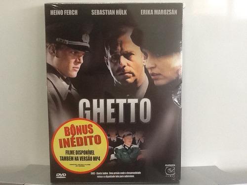 dvd guetto - com luva - lacrado de fábrica - original