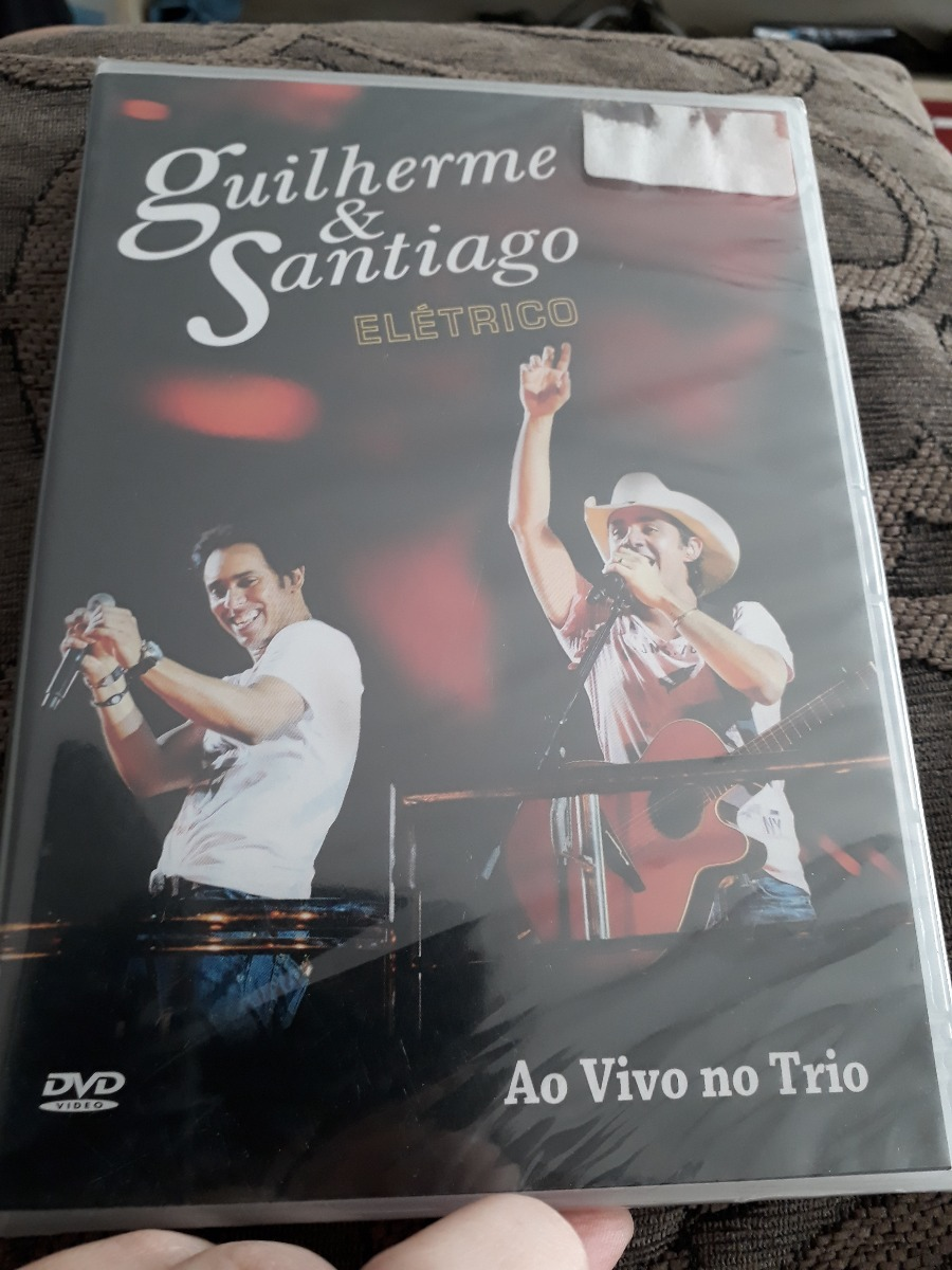 dvd - do guilherme e santiago eletrico
