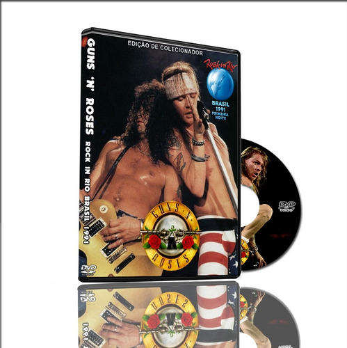 dvd guns n roses ao vivo rock in rio brasil 1991