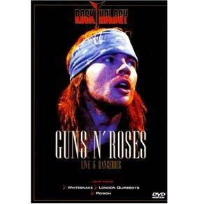 dvd - guns n' roses: live & dangerous