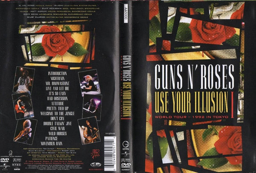dvd guns n' roses use your illusion 1