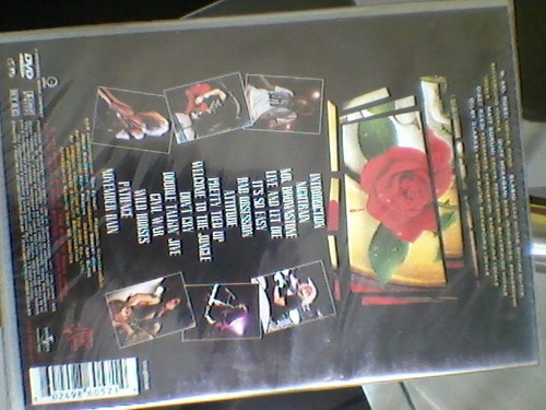 dvd guns n' roses - use your illusion 1