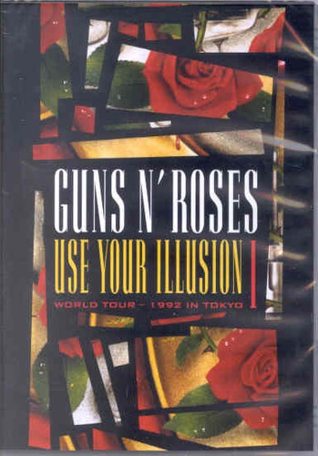 dvd guns n' roses - use your illusion i