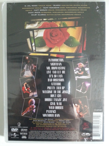 dvd guns n' roses use your illusion i - lacrado!!!