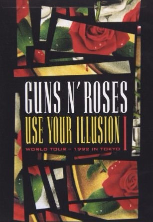 dvd guns n' roses - use your illusion i - world tour 1992