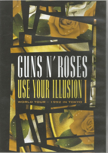 dvd - guns n roses - use your illusion i - world tour tokyo