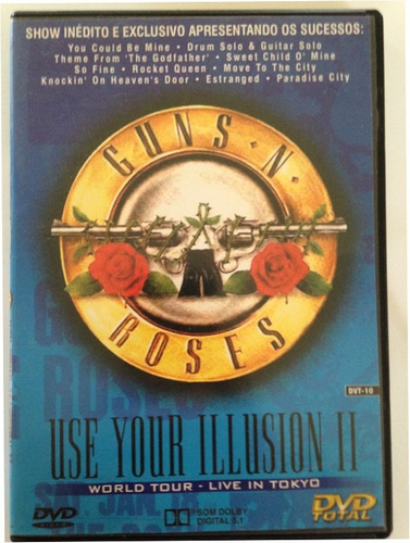 dvd guns n roses use your illusion ii