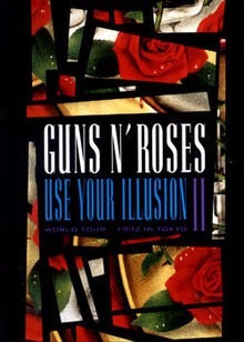 dvd guns n' roses - use your illusion ii - original lacrado