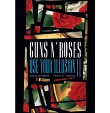 dvd guns n' roses - use your illusion ii - world tour 1992