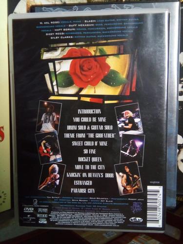dvd guns n'roses use your illusion 2 world tour 1992 origina